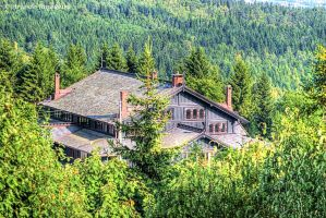 A House in the Forest by Arte-de-Junqueiro