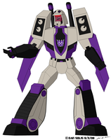 TF: Animated - Blitzwing by BoggeyDan