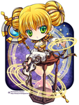 Heroes of the Storm Chromie by Shenjou