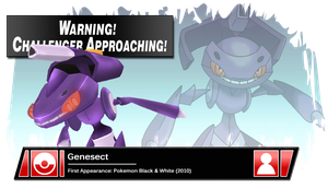 SSB4 Banner: Genesect by Pixiy