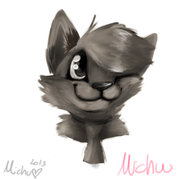 Without color it would be... by Michibu