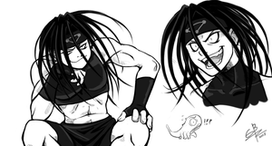 FMA sketches 4 by Gbtz007