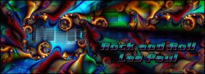 Rock and Roll Les Paul by ivankorsario