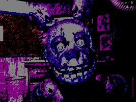 Showing your true colors (Springtrap) by ThereallylargeFly