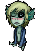 Fishboy Chibi by strxbe