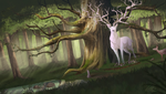 Spirit Of The Forest by Zodiac--Star