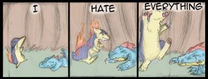 Hate - 3 by Draikinator