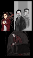 Teen Wolf stuff by Mikiku