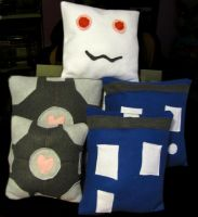 Plushie Pillows by rawien