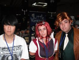 SacAnime 2009 - Me and YGO5Ds by TacticianMark