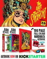 KICKSTARTER for The ART of STRANSKI funding NOW by STUDIOBLINKTWICE