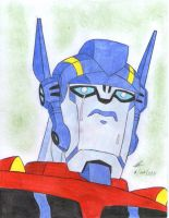 dont cry Optimus Prime by ailgara