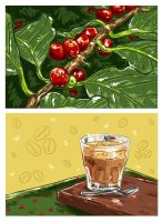 Art for Foodies: Coffee Break by vervex