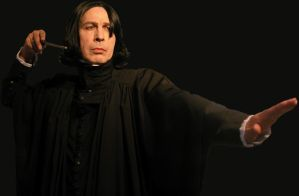 WilliamSnape with his wand by WilliamSnape