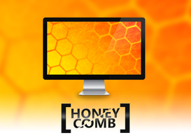 Honeycomb Wallpaper by MilesAndryPrower