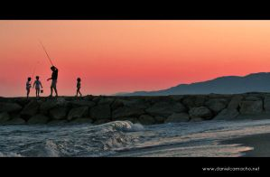 Father and sons by dcamacho