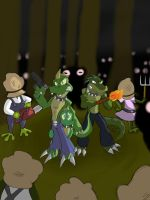 Nightriders TFSA: Terror in the Swamp P2 by AxlReigns