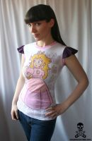 Princess Peach Top by smarmy-clothes