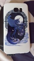 Princess of the Night (Princess Luna - case) by cedricc666