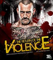 WxW The Return Of The Violence 2013 Wallpaper by Castivaz