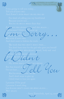 Digital Typography I'm Sorry1 by ConfusedLittleKitty