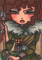Celt (aceo artwork) by Regs