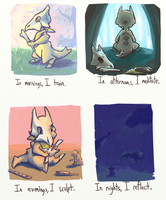 PMD-E: Silas' Hobbies by LiteracyScaresMe