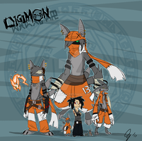 Rail and Digimon by JustAlex09
