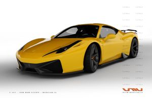 Ferrari 458 Italia GT - 1 by jmvdesign
