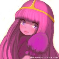 Princess Bubblegum by jaimito