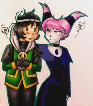 So much unluck and mischief in this otp by animechan21