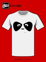 Panda shirt by DeluxePanda