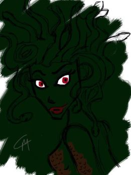 Things That Go Bump in the Night - Medusa by august-knell