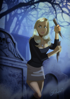 Buffy The Vampire Slayer by Des Taylor by DESPOP