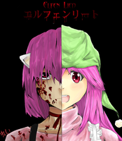 Elfen Lied - We Are One by LilyOnWater