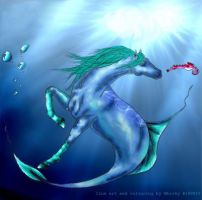 sea horse by horsegirljess