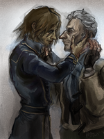 dishonored - (more) samuel x corvo by PayRoo