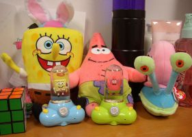 Sponge Bob Stuff by fanchielover15