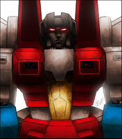 Starscream. by iennisita
