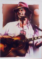 Neil Young by JSaurer