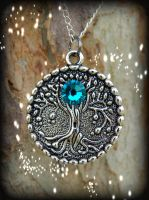 Zircon Crystal Tree by ArtByStarlaMoore