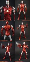 Silver Centurion Iron Man by KyleRobinsonCustoms