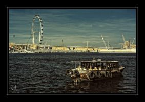 Singapore Boat Tour by melintir