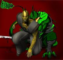 The Gecko Demon, Take Two by Chup-at-Cabra