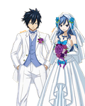Wedding Gray and Juvia (Render) by Namyle