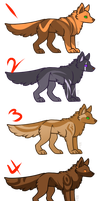 Tiny Wolf Adopts (CLOSED) by Reyniki