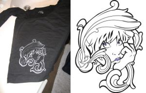 Tshirt Design by Cafei