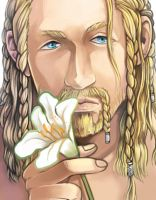Hobbit-Fili and flower2 by MiDooMoo