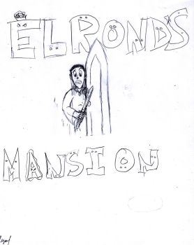 Elrond's Mansion by Tyrion-Little-Lion