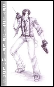 detective lei wolung by kicky